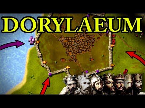 First Crusade: Battle of Dorylaeum 1097 AD