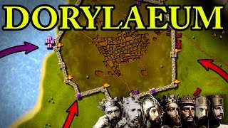 First Crusade: Battle of Dorylaeum 1097 AD