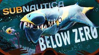 An Alien Is Inside of Me - Brute Shark & More Deadly Predators - Subnautica Below Zero Gameplay