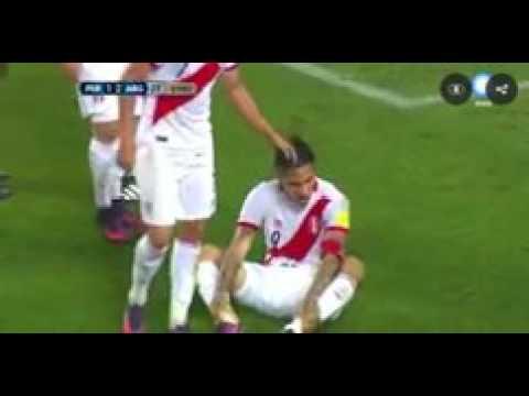 Error de Javier Mascherano en gol de Christian Cueva