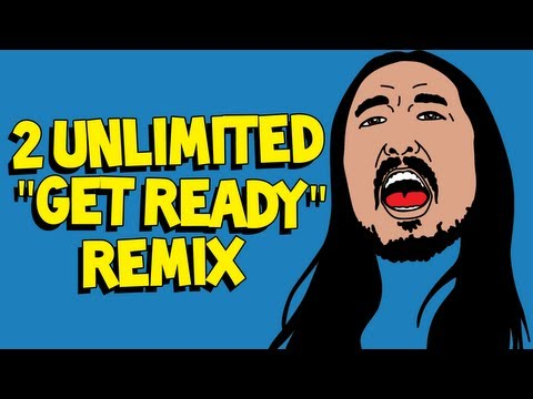 """""""Get Ready (Steve Aoki Remix)"""" OFFICIAL AUDIO - 2 Unlimited"""