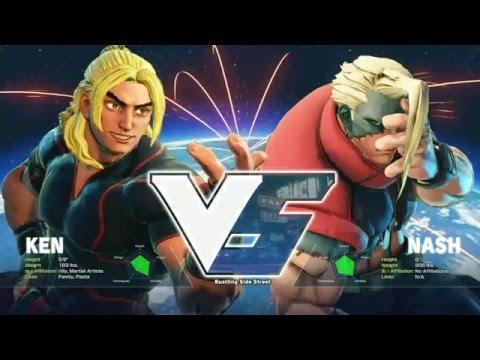 Street Fighter 5: Winter Brawl X Tournament - Grand Final - Julio (Ken) vs LI Joe (Nash) - Top 16