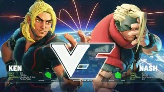 Street Fighter 5: Winter Brawl X Tournament - Grand Final - Julio (Ken) vs LI Joe (Nash) - Top 16