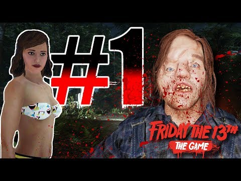 Jenny the Voorhees Slayer! | TECHNIQUE! | Friday the 13th: The Game | Gameplay #1
