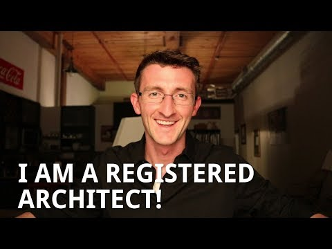 I Am a Registered Architect!