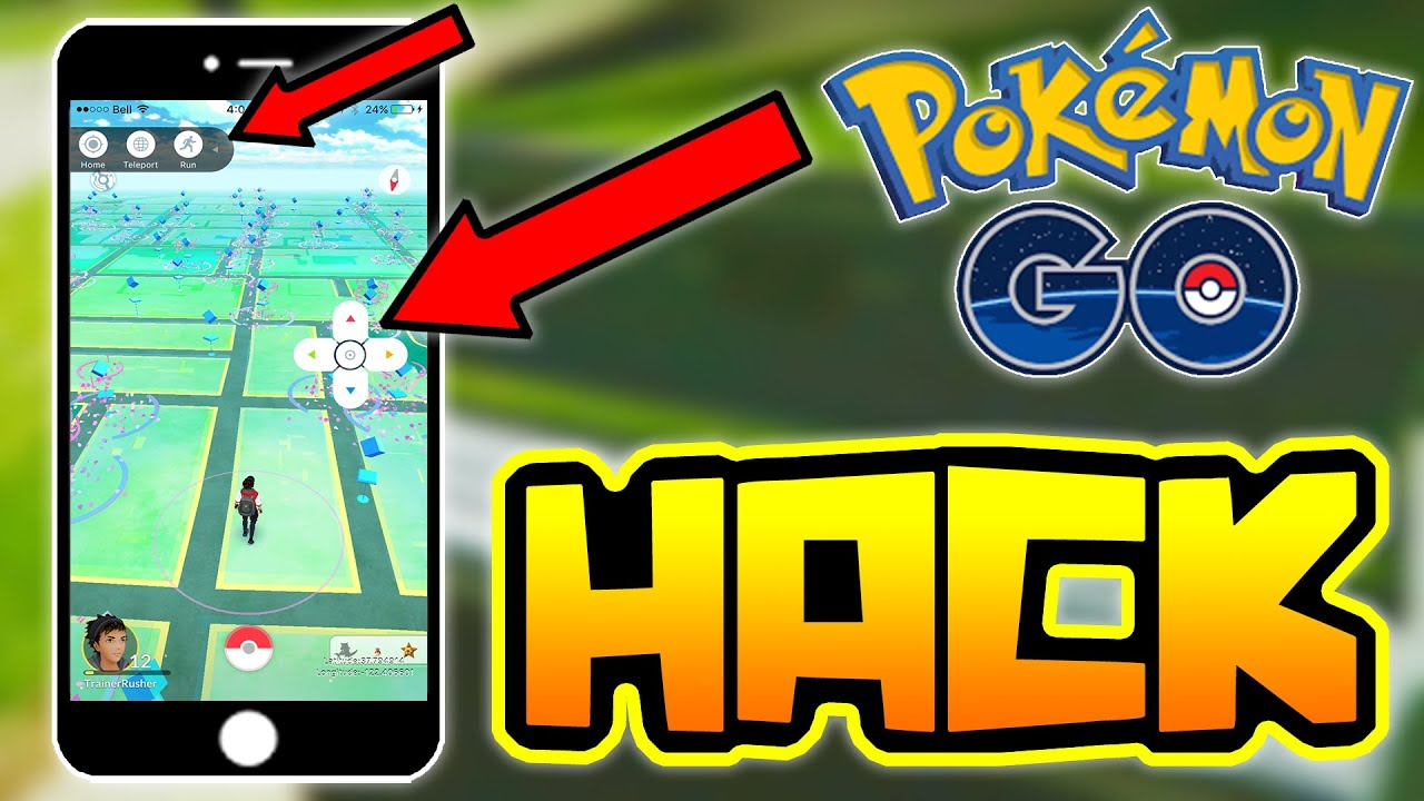 POKEMON GO HACKS!! ( WALK AROUND THE WORLD HACK / CHEAT ) - YouTube