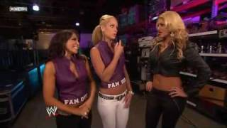 Gambar cover Lay-Cool,Kaval & Rosa Mendes Backstage Segment  WWE SmackDown 6/18/10