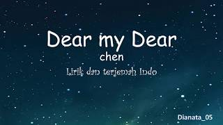 [EASY LIRYCS] CHEN/MY DEAR/SUB IND