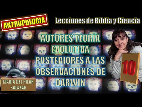 1 3 Video autores teoría evolutiva autores post Darwin