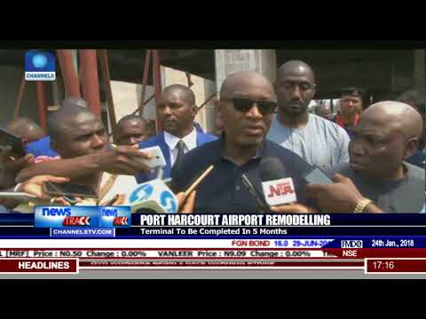 Port Harcourt Airport Terminal To Be Completed In Five Months