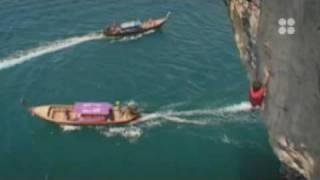 Deep Water Soloing mit David Lama