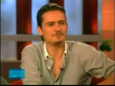 orlando bloom on ellen part 1