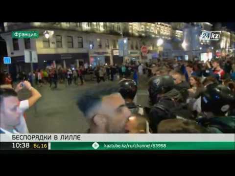 Футбольные фанаты продолжают устраивать беспорядки