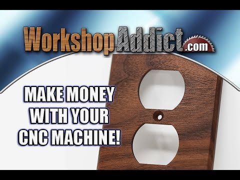 Thumbnail: Make Money With your CNC Machine | Custom Outlet and Switch Covers