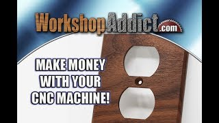 CNC Machines are Money Making Machines! - Desktop CNC machines or non-industrial or commercial units are viewed as toys. That is far from the case.
