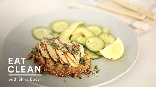 Grilled Chimichuri Tofu On Toast - Eat Clean With Shira Bocar