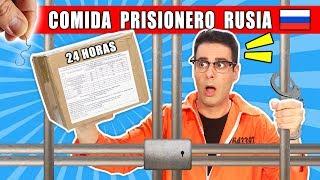 ENCUENTRO PELOS PROBANDO COMIDA DE PRISIONERO RUSO Ración 24 HORAS   Curiosidades con Mike