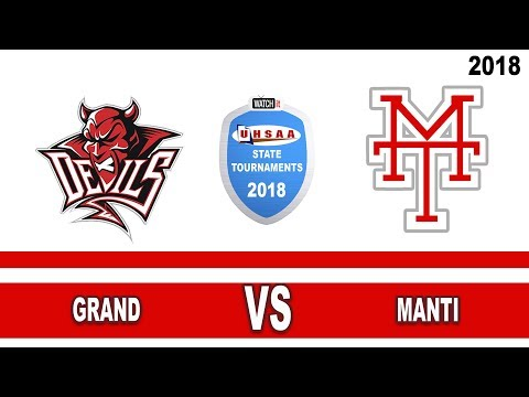 3A Softball: Grand vs Manti High School UHSAA 2018 State Tournament Round 1