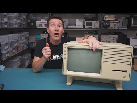 EEVblog #696 - Apple Lisa Retro Computer Teardown