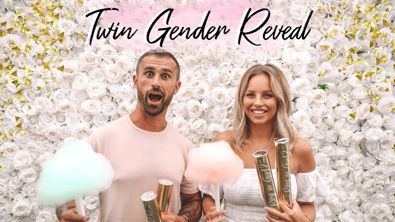 TWINS GENDER REVEAL   THE CARTER TWINS   Lucy Jessica Carter