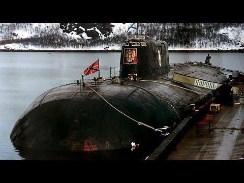 Russian Submarine Kursk World's Largest Submarine - Kursk Submarine Story & Disaster
