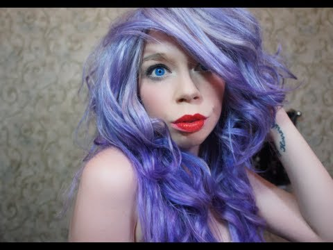 what color lipstick goes with blue hair the art of beauty