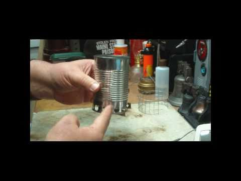 Easy to make backpacking woodgas stove