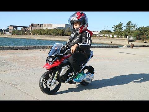 Andando De Mini Moto Com Meu Pai Bmw Gs1200 Little Bike Youtube