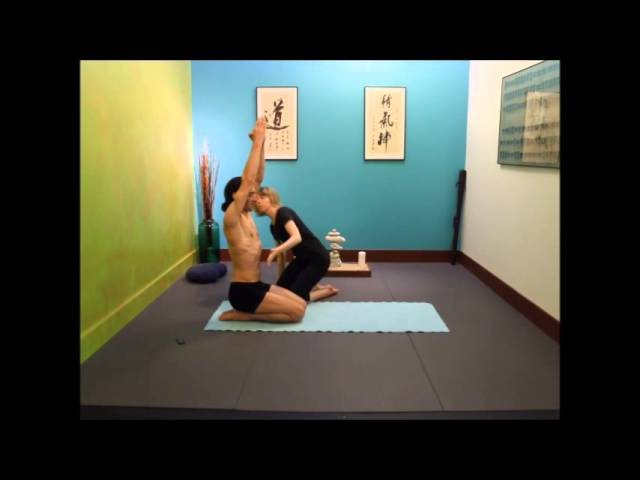 Yoga Pose Half Tortoise Posture Mechanics Youtube