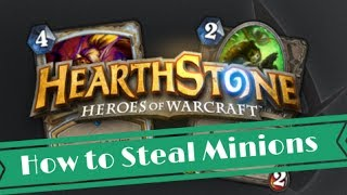 Hearthstone Tips: How to Steal Minions With Shadow Madness (Priest)