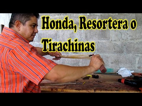 Como Hacer una Honda, Resortera o Tirachinas