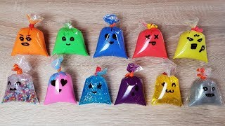 Making Slime With Funny Bags ! Satisfying Relaxing Slime Video