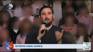 Stirile Kanal D (12.10.2018) - Elevi dezbracati si filmati de un calugar! Editie COMPLETA