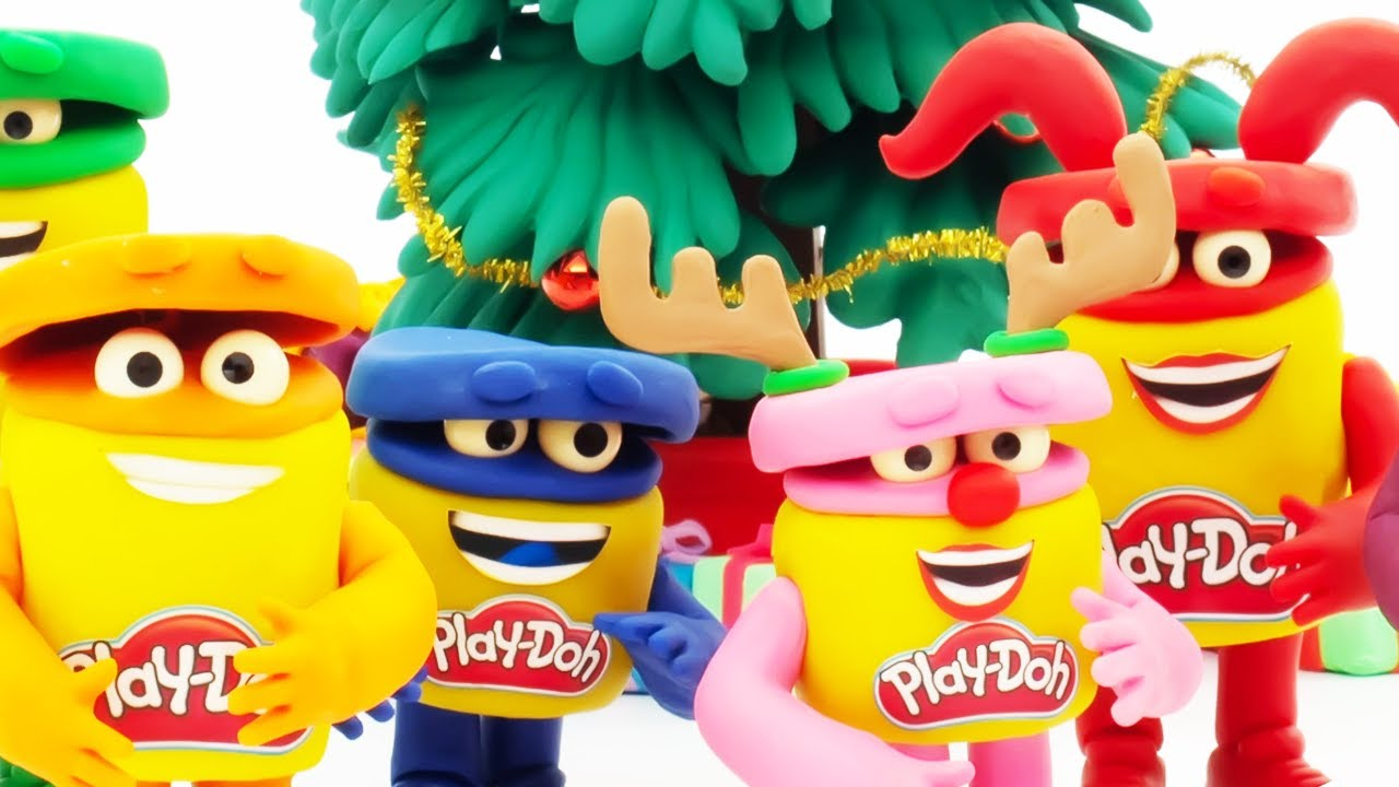 Jingle Bells   Christmas    Play-Doh Show Stop Motion   Play-Doh Official
