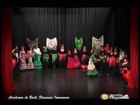 Festival Flamenco Academia de Baile Inmamera de Miajadas 2013