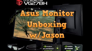 Unboxing Asus Monitor & More! w/Jason