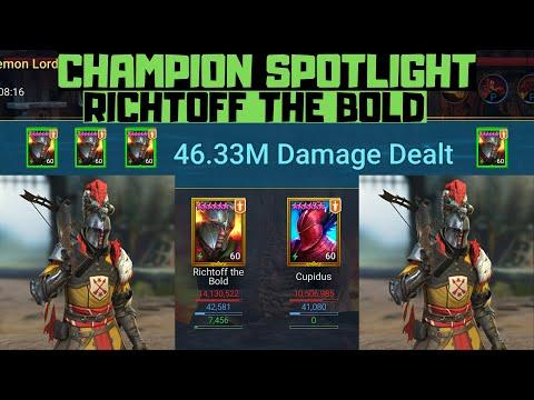 Champion Spotlight: Richtoff the Bold I Raid Shadow Legends