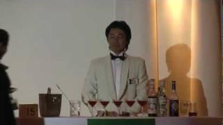 カクテル名 なでしこ 2011千葉カクテルコンペティション プロ部門 No.15...