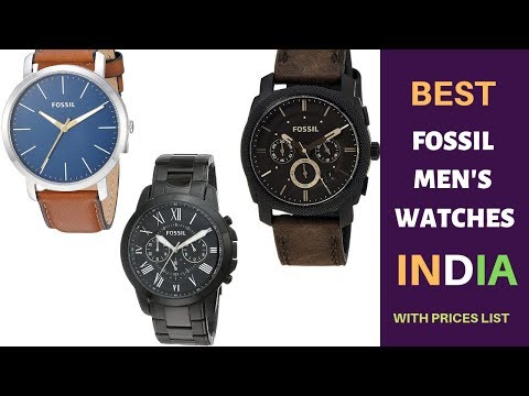 Top 10 Best Fossil Men's Watches To Buy In India 2020