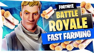 FAST FARMING E IL POTERE DEL NO-SKIN! - Fortnite Bataille Royale