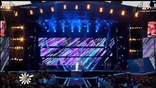 Праздничный концерт в Муроме 8 июля 2011 г.