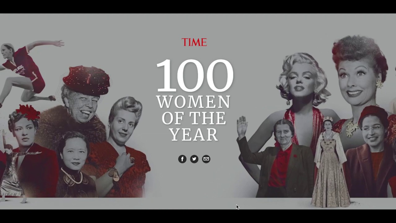 [Video] Time 100 Women of the Year