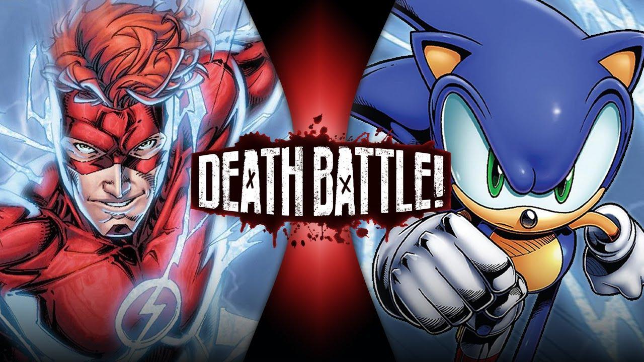 Download Flash VS Sonic (Wally West VS Archie Sonic) | DEATH BATTLE!