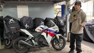 CBR250R(低走行)ABSつき:安全仕様で操作性もよい・お買い得バイク