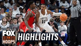 Penn State vs Ohio State | HIGHLIGHTS | FOX COLLEGE HOOPS