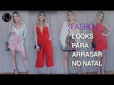 5 LOOKS PARA ARRASAR NO NATAL #FASHION