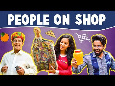 Types of People on SHOP | The Half-Ticket...