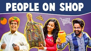 Types of People on SHOP | The Half-Ticket Shows