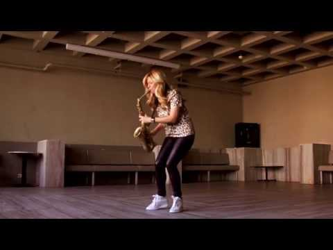Candy Dulfer chooses to play Amsterdam Free Wind alto sax