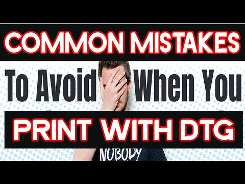 Biggest Mistakes Most New Epson F2100 DTG Printer Owners Do & How To Correct Them